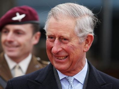 (FILES) A file picture taken on December 6, 2012 shows Britain's Prince Charles smiling as he leaves SA Agulhas on the river Thames in London after launching 'The Coldest Journey' expedition, a bid to cross the Antarctic in winter. Prince Charles will attend the Dutch royal investiture on April 30, 2013 along with other European royalty and notable figures from European and international organisations. Queen Beatrix of the Netherlands announced her abdication on January 28, 2013. After 33 years on the throne, the Queen will relinquish the crown at the end of April, leaving the monarchy to Crown-Prince Willem-Alexander, the oldest of her three sons.   AFP PHOTO / POOL / LEWIS WHYLD