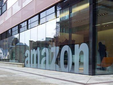 Les principaux locaux d'Amazon au Luxembourg, sur les rives de Clausen.
