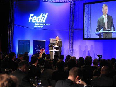 Le traditionnel discours de Robert Dennewald lors du nouvel an de la Fedil.