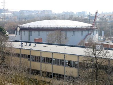 Demolition of the gas holder in Hollerich is expected to begin in 2016