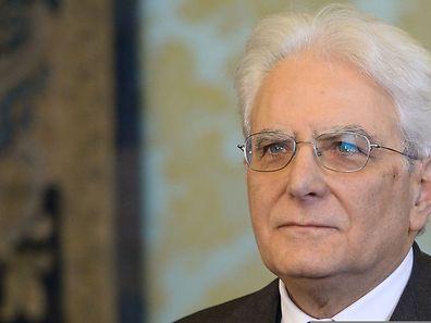 Newly elected President of Italy, Sicilian judge Sergio Mattarella