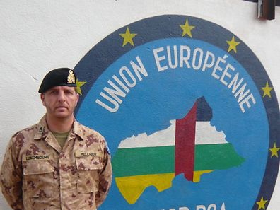 Chief Warrant Officer Luc Melchior