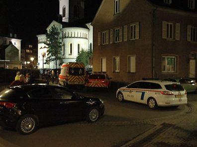 Der Mord war am Montagabend beim Stadthaus passiert.