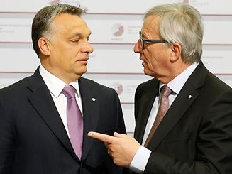 "The last time Juncker​ met Hungarian PM Orban, he was quoted as famously saying ""hello dictator"""