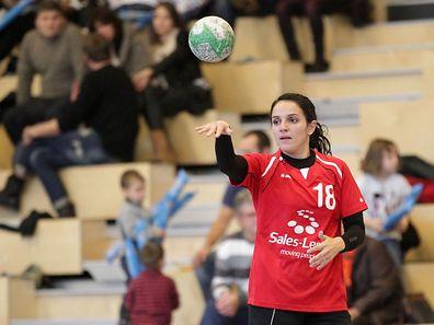 Véronique Pimenta (HB Käerjeng) zählt zu den besten Spielerinnen im Großherzogtum.