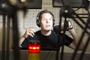 DJ Sam Steen at ARA City Radio