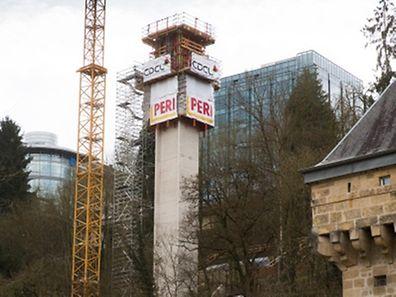 Der Panoramalift soll im Frühjahr 2016 in Betrieb genommen werden.