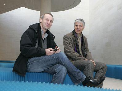 Pierre Stiwer et Paul di Felice.