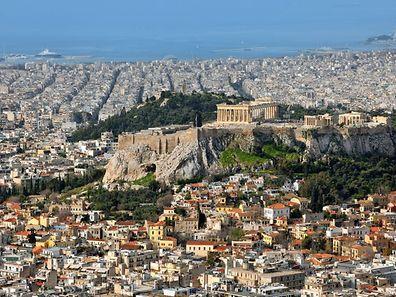 Athènes affiche un prix au mètre carré le plus bas d'Europe avec 1187€.