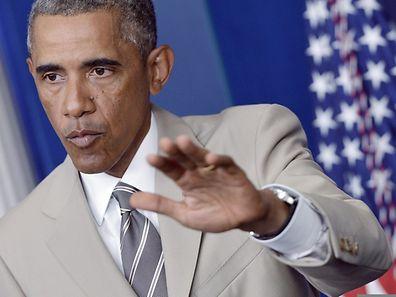 US-Präsident Obama kritisiert, dass Russland den Konflikt in der Ukraine nicht diplomatisch löst.