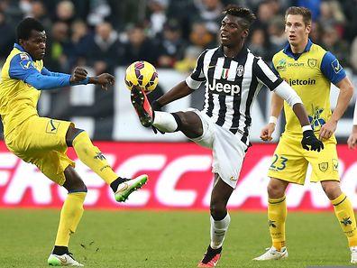 En l'absence d'Andrea Pirlo, Paul Pogba a été la plaque tournante de le Vieille Dame contre le Chievo Vérone.
