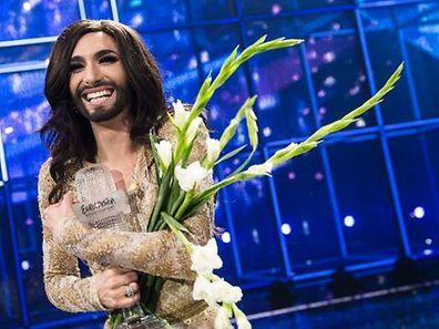 Conchita Wurst a remporté l'Eurovision en 2014 à Copenhague