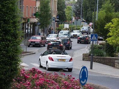"""Die Eröffnung der """"Nordstraße"""" wird auch in Walferdingen für weniger Verkehr sorgen."""