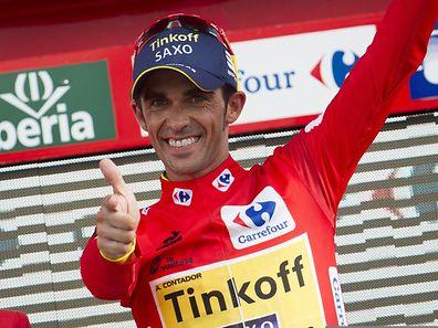 """""""El Pistolero"""", wie Contador auch genannt wird, ließ seinen Konkurrenten keine Chance."""
