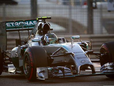 Nico Rosberg qar im Qualifying nicht zu schlagen.