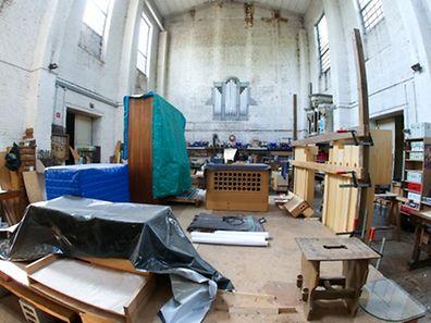 Orgelfabrik - Lintgen - Photo : Pierre Matgé