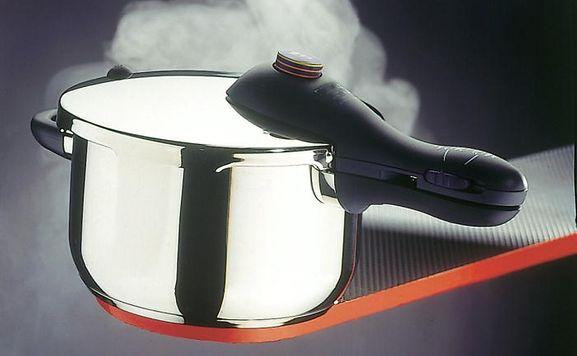 Ein Schnellkochtopf ist recht einfach zur Explosion zu bringen.