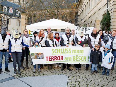 Protestmarsch in der Oberstadt Foto: Lucien WOLFF