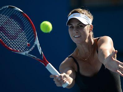 Für Mandy Minella verläuft das Turnier in Seoul im Doppel nach Maß.