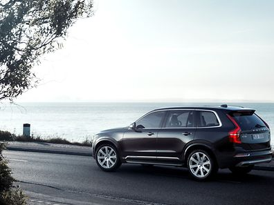 Volvo's new XC90 - soon to be taking itself for a spin?