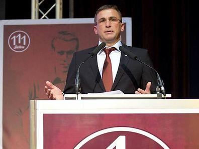 Vorstandschef Stefan Kuntz im Jahr 2012.