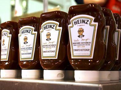 Heinz ist weltweit mit Ketchup berühmt geworden.