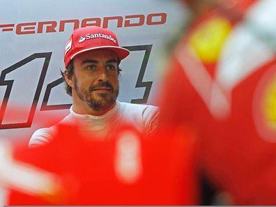 Fernando Alonso ist in diesem Jahr mit dem Ferrari chancenlos.