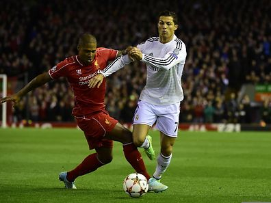 Cristiano Ronaldo a inscrit sur la pelouse d'Anfield son 70e but en Ligue des champions.