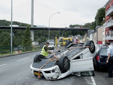 Le conducteur s'en est sorti indemne.