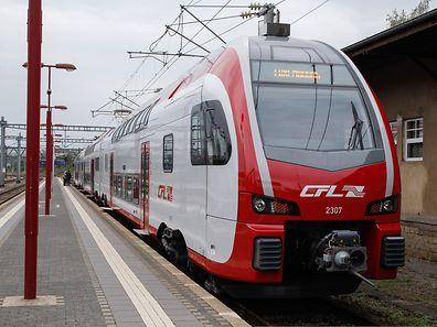 Der neue Doppelstocktriebwagen der CFL