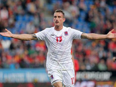 Blessé à un quadriceps, Aurélien Joachim pourrait faire l'impasse sur le match contre la Macédoine, le jeudi 9 octobre à Skopje