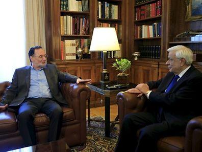 Der griechische Präsident Prokopis Pavlopoulos hat die Gespräche mit den Parteipräsidenten abgeschlossen.