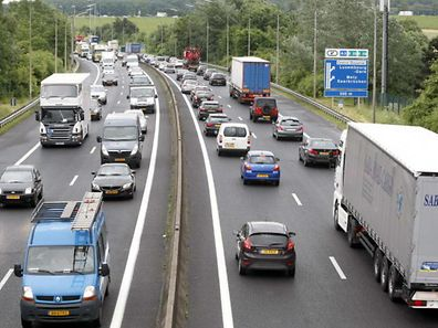 L'A6 est quotidiennement prise d'assaut par les frontaliers, qui l'empruntent pour se rendre au Luxembourg depuis la Belgique