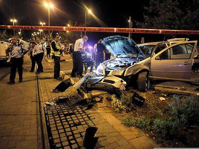 Bei dem Autofahrer soll es sich um ein Mitglied der Hamas handeln.
