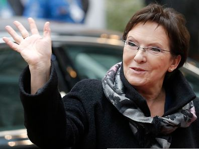 Polens Regierungschefin Ewa Kopacz trat bei den bis 2030 reichenden EU-Energiezielen auf die Bremse.