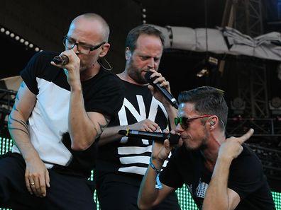 """Die """"Fanta 4"""" waren 2011 Headliner des Rock-A-Field"""
