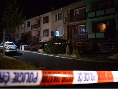 Der Attentäter lebte in diesem abgesperrten Haus.