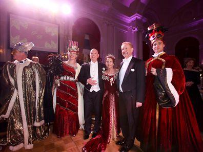 Mariage de Pierre Dillenbourg et de Roland Hubsch au Cercle à Luxembourg-ville