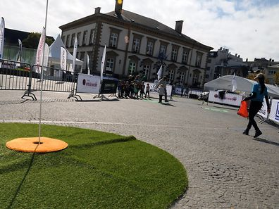 Golf in the City returns to Luxembourg City this weekend.