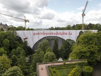 Nach modernsten Vorgaben renoviert: der Pont Adolphe
