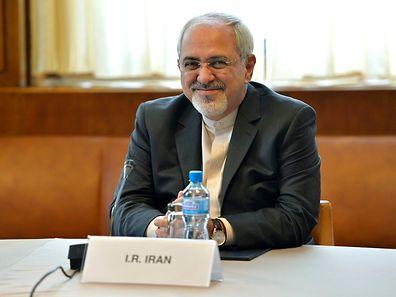 """Der iranische Außenminister Mohammad Javad Zarif ist """"recht optimistisch"""" über einen Durchbruch bei den Verhandlungen über das Nuklearprogramm Teherans."""
