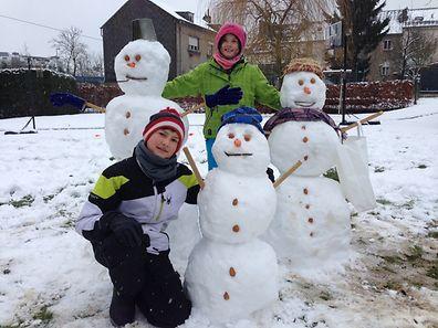 Diese Kinder haben in Esch/Alzette aber ganze Arbeit geleistet.