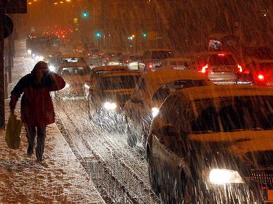 8.12 Schnee / Schneechaos / Luxemburg  Foto: Guy Jallay