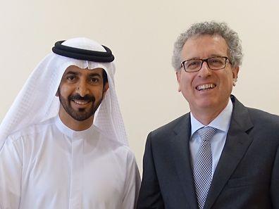 Der zuständige Minister, Pierre Gramegna, befindet sich zur Zeit auf einer Dienstreise im Mittleren Osten.