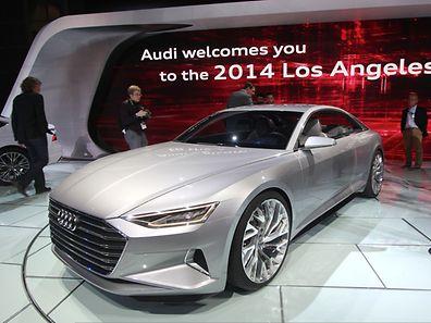 Zukunftsweisend:Viele Details der Audi-Designstudie Prologue sollen sich beim nächsten A8 und bei den Nachfolgern von A6 und A7 wiederfinden.