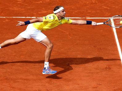 Gilles Muller scheiterte am besten Tennisspieler der Welt.