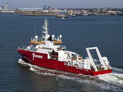 Australian-contracted survey ship M/V Fugro Discovery, which along with the Malaysian-contracted GO Phoenix, will soon start a new  high-resolution search for missing Malaysia Airlines flight MH370