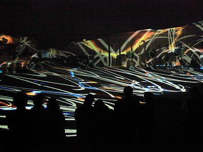 Le barrage servira de toile gigantesque à l'artiste Kurt Laurenz Theinert pour trois soirs