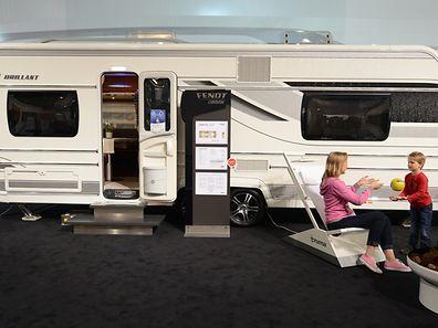 Alles an Bord: Der Fendt Brillant 650 gehört eher zu den Luxusmodellen auf dem Caravan-Salon.