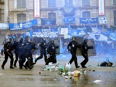 Des incidents ont éclaté dans l'après-midi sur la Grand'Place de Lille